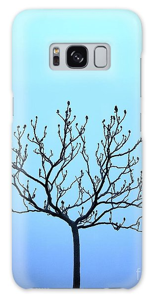 Tree With The Blues Galaxy Case by Chris Dutton