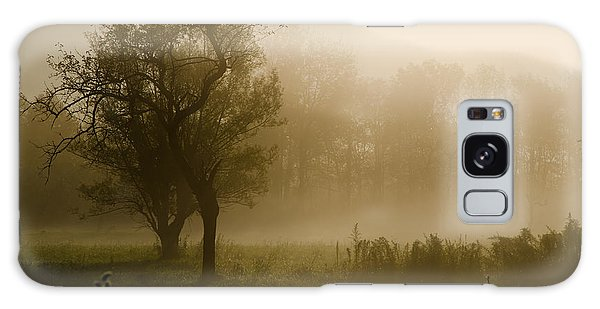 Trees And Fog Galaxy Case