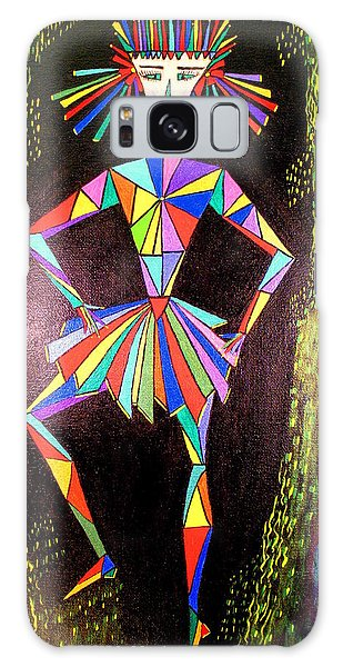 Triangle Woman Galaxy Case