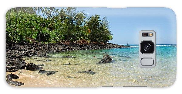 Tropical Paradise Galaxy Case by Lynn Bauer