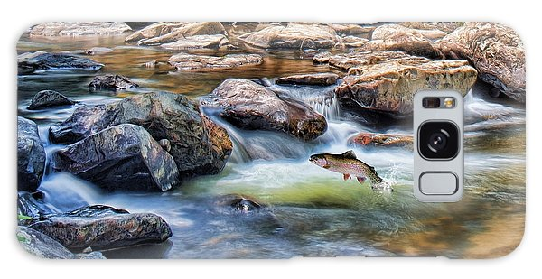 Trout Stream Galaxy Case