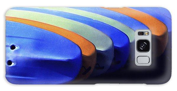 True Color Of Kayaks Galaxy Case by Danuta Bennett