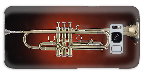 Trumpet Red Spotlight  Galaxy Case