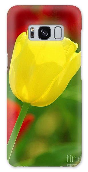Tulipan Amarillo Galaxy Case