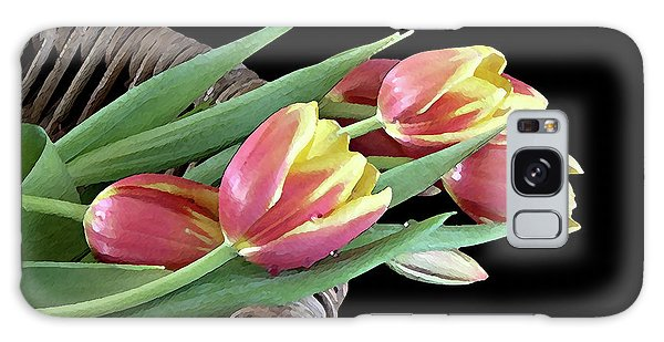 Tulips From The Garden Galaxy Case
