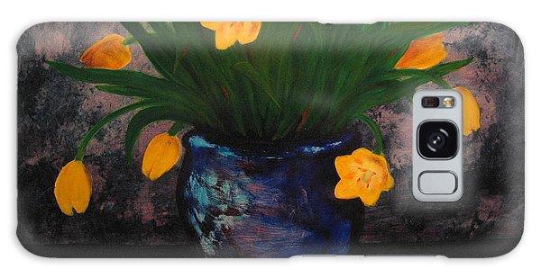 Tulips In Blue Galaxy Case