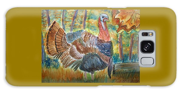 Turkey In Fall Galaxy Case