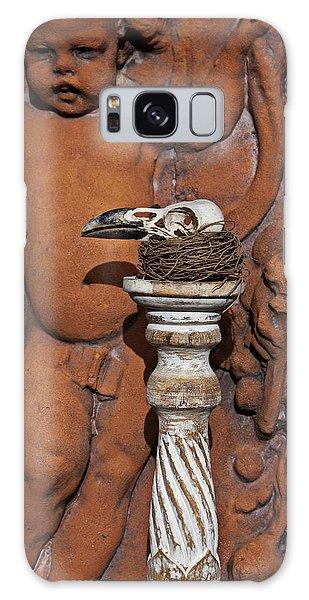 Turkey Vulture Skull Galaxy Case