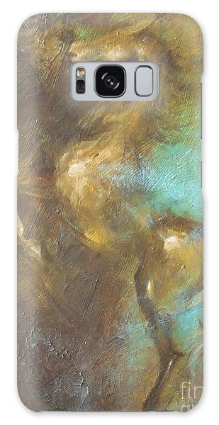 Turquoise Dust 2 Galaxy Case by Dina Dargo