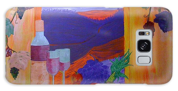 Tuscan Lunch Galaxy Case by Judi Goodwin