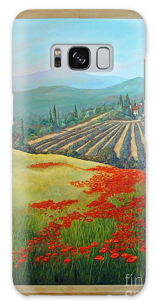 Tuscan Vista Galaxy Case
