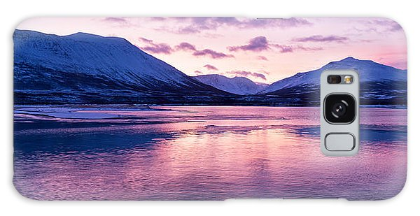 Twilight Above A Fjord In Norway With Beautifully Colors Galaxy Case