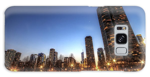 Twilight In Chicago Galaxy Case