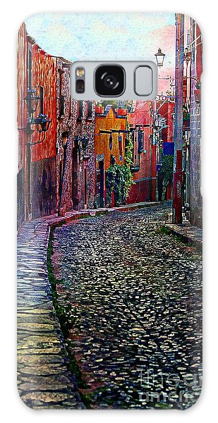 Twilight In San Miguel De Allende Galaxy Case by John  Kolenberg