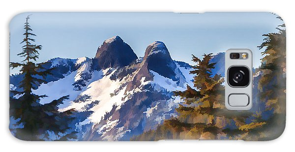 Twin Peaks Painting Galaxy Case