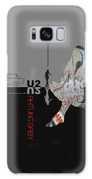 U2 Galaxy Case - U2 Poster by Naxart Studio