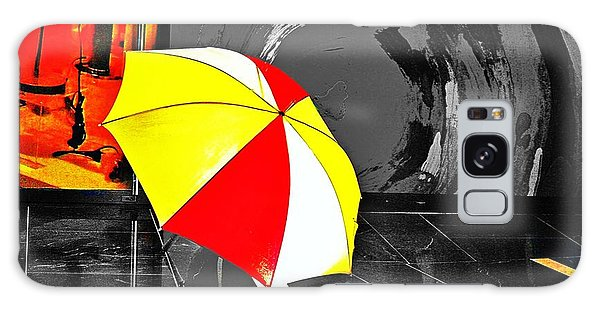 Umbrella 2 Galaxy Case by Blair Stuart