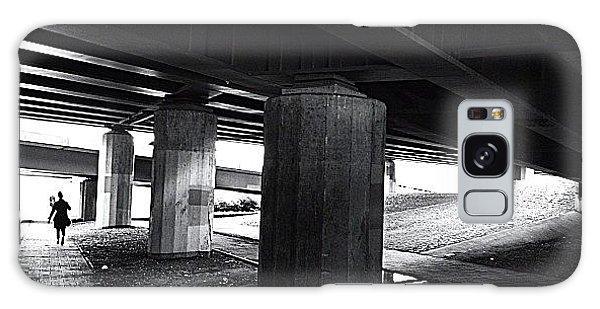 Light Galaxy Case - Under The Bridge#bw# #walk #light by A Rey