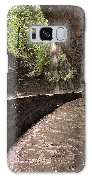 Under The Falls Galaxy Case by Cindy Haggerty