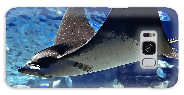 Underwater Flight Galaxy Case by DigiArt Diaries by Vicky B Fuller