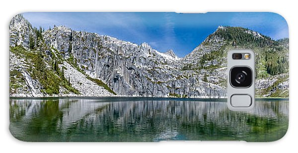 Upper Canyon Creek Lake Panorama Galaxy Case