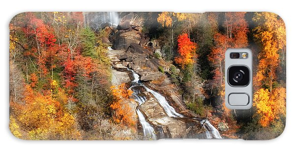 Upper Whitewater Falls Galaxy Case