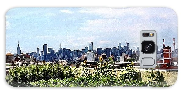 Skylines Galaxy Case - Urban Nature - New York City by Vivienne Gucwa