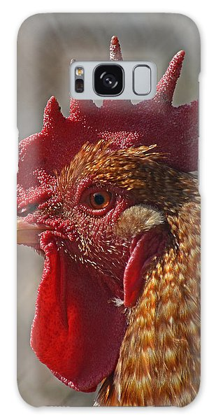 Urban Rooster Galaxy Case by Lisa Phillips