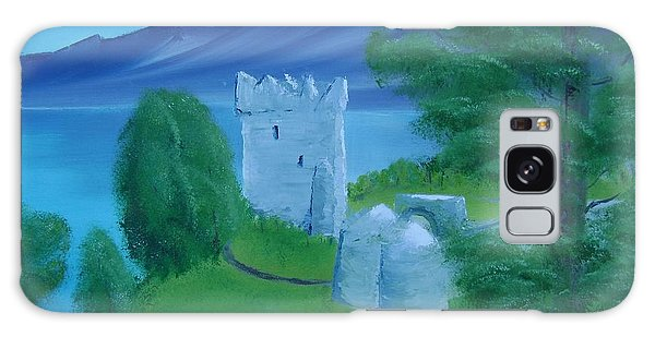 Urquhart Castle Galaxy Case