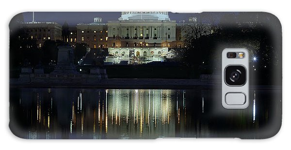 Us Capitol - Pre-dawn Getting Ready Galaxy Case