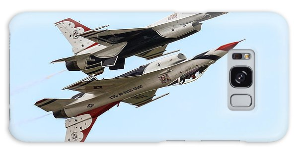 Usaf Thunderbirds Display Pair Galaxy Case by Ken Brannen