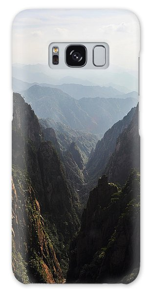 Valley In Huangshan Galaxy Case