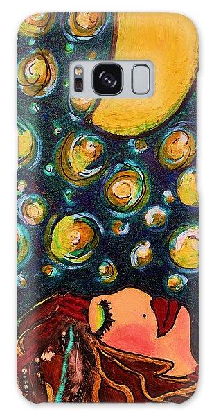 Vangogh Dreams Galaxy Case by Laura  Grisham