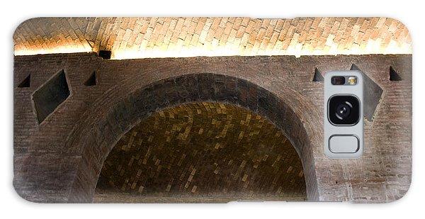 Vaulted Brick Arches Galaxy Case by Lynn Palmer