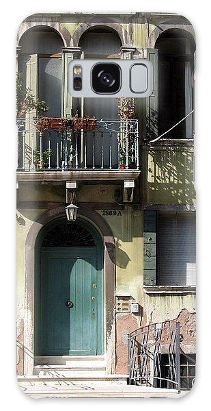 Venetian Doorway Galaxy Case by Carla Parris