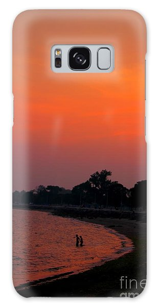 Vibes Beach Galaxy Case