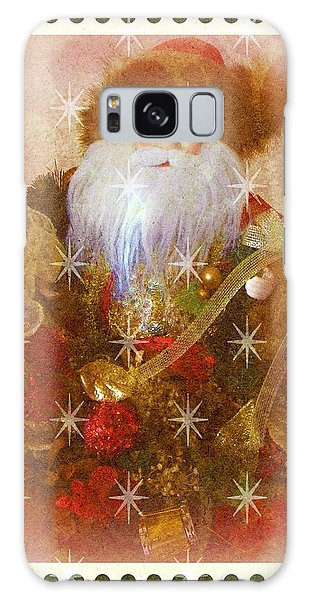 Victorian Santa Galaxy Case by Michelle Frizzell-Thompson