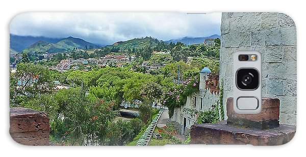 View From The City Walls - Loja - Ecuador Galaxy Case