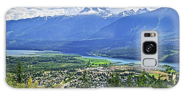Town Galaxy Case - View Of Revelstoke In British Columbia by Elena Elisseeva