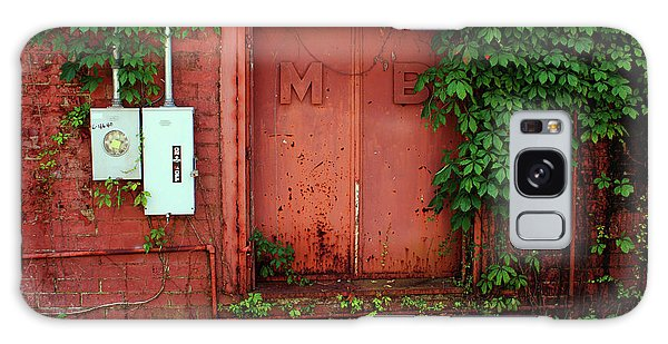 Vines Block The Door Galaxy Case by Paul Mashburn