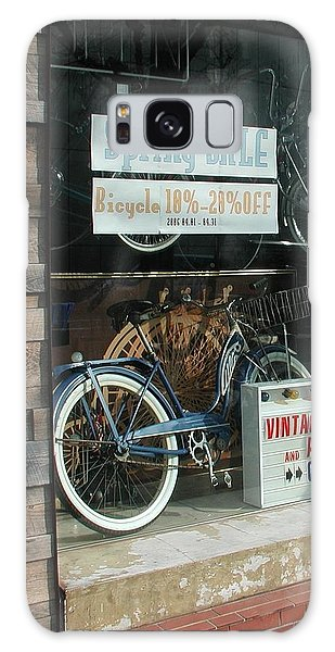 Vintage Bicycle And American Junk  Galaxy Case
