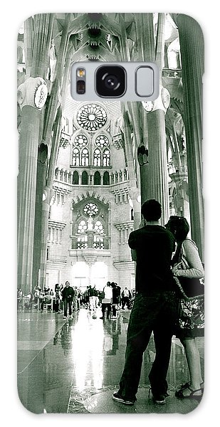 Galaxy Case featuring the photograph Vintage Sagrada by HweeYen Ong