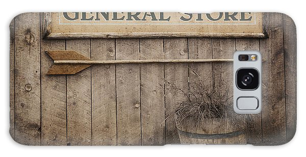 Mottled Galaxy Case - Vintage Sign General Store by Jane Rix