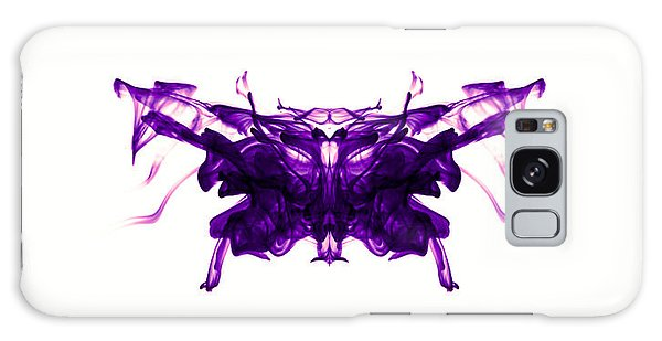 Violet Abstract Butterfly Galaxy Case