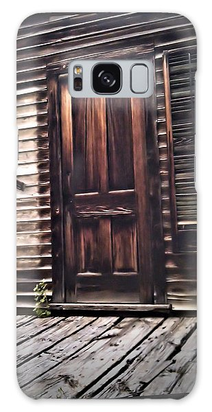 Virginia City Ghost Town Door I Galaxy Case