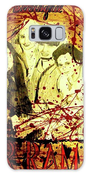Galaxy Case featuring the mixed media Visit Beautiful Ar Ramadi by Michelle Dallocchio