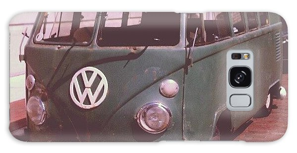 Vw Bus Galaxy Case - Vw In Downtown Fort Myers. #vw by Troy Thomas