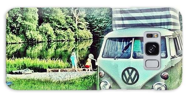Vw Camper Galaxy Case - #vw That's Camping by Doc Ward