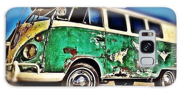 Vw Bus Galaxy Case - #vw #volkswagon #bus #patina #vintage by CactusPete AZ