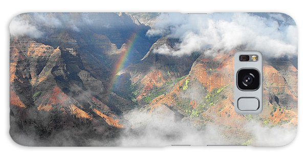 Waimea Canyon Rainbow Galaxy Case